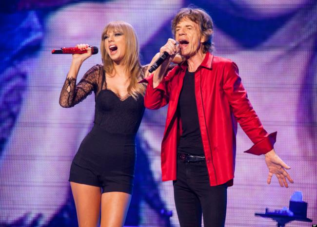 Taylor Swift e Mick Jagger insieme per Satisfaction