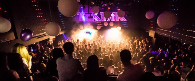 Il pubblico e il palco del Tik Tak 2013