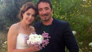 Federico Zampaglione e Claudia Gerini sposi
