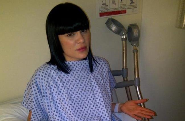 Jessie J ricoverata in ospedale