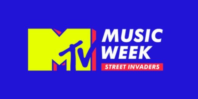 Logo MTV Music Week 2015, Milano