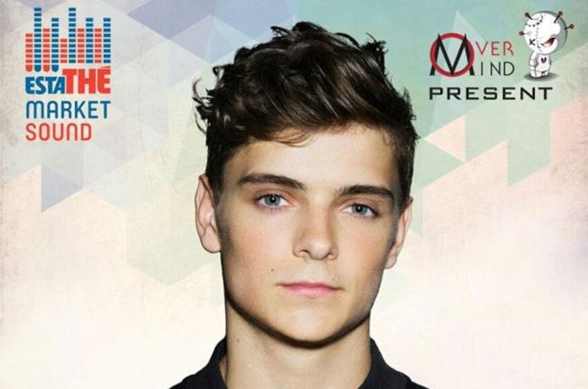 Martin Garrix all'Estathé Market Sound di Milano