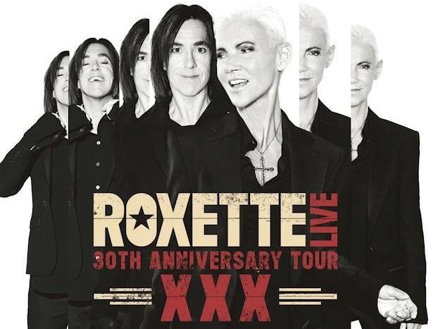 Locandina XXX, The 30th Anniversary Tour dei Roxette