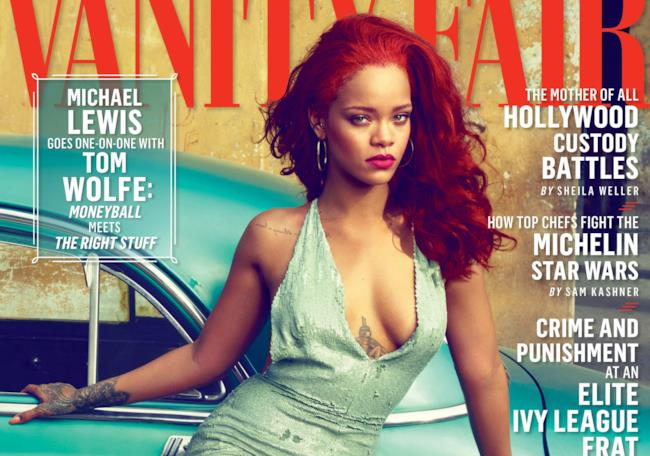 Rihanna sulla copertina di Vanity Fair USA