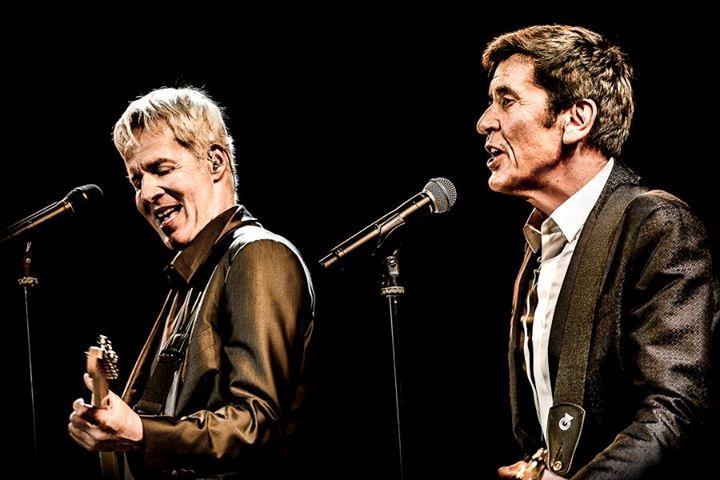 Baglioni e Morandi insieme sul palco