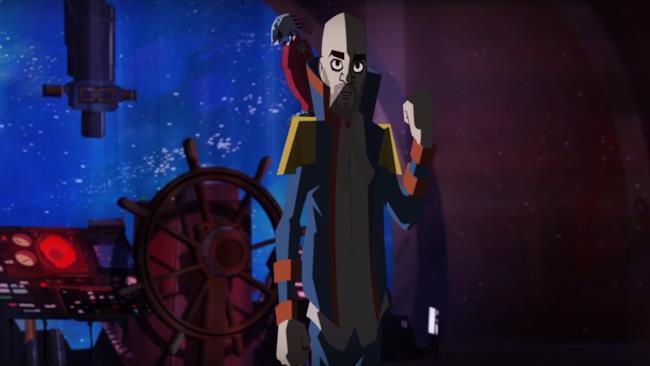 Uno screeshot dal video dei Negramaro Il posto dei santi