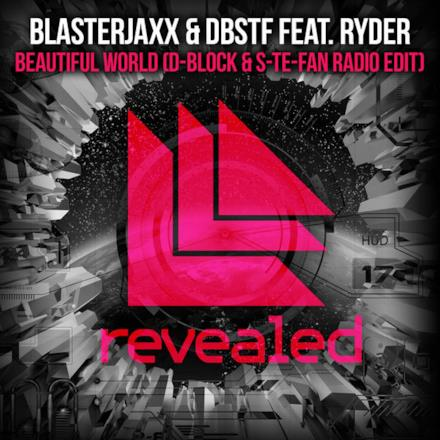 Beautiful World (feat. Ryder) [D-Block & S-te-Fan Radio Edit] - Single