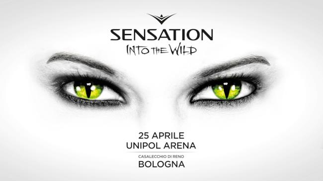 Locandina Sensation Into the Wild 2014 Italia