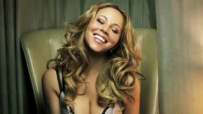 La popstar, Mariah Carey