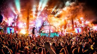 Il festival di musica elettronica Tomorrowland