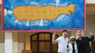 Yoko Ono, Bono e The Edge insieme per John Lennon