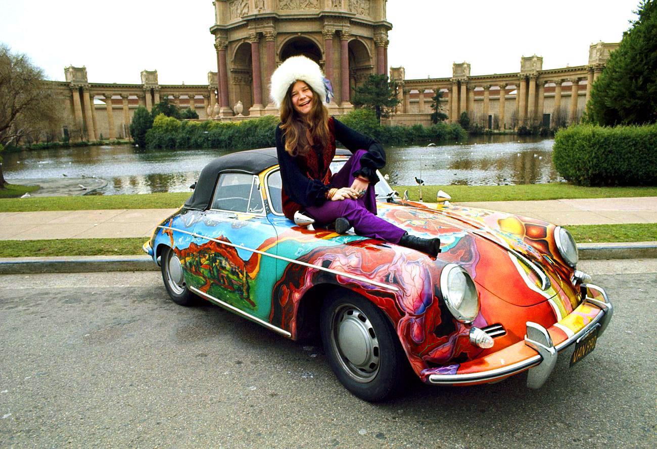 Janis e la sua inseparabile quattro ruote