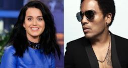 Katy Perry e Lenny Kravitz