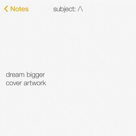 Dream Bigger (Instrumental) - Single