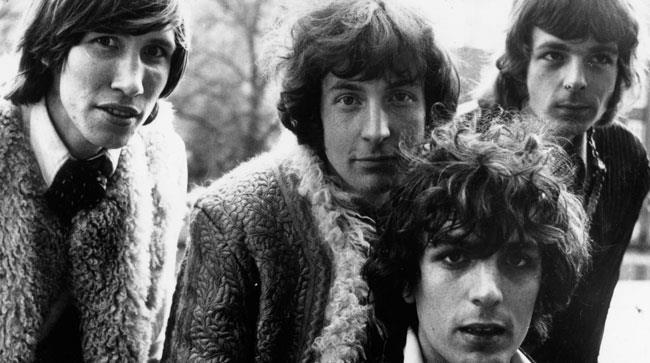 Foto di gruppo dei Pink Floyd