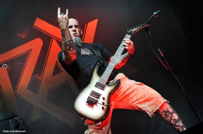 Scott Ian, chitarrista degli Anthrax