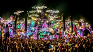Il mainstage del Tomorrowland 2016