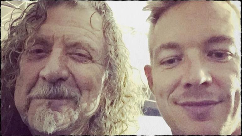 Robert Plant Collaborerà con Diplo nel suo nuovo album