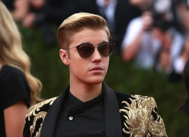 La giovanissima star canadese Justin Bieber