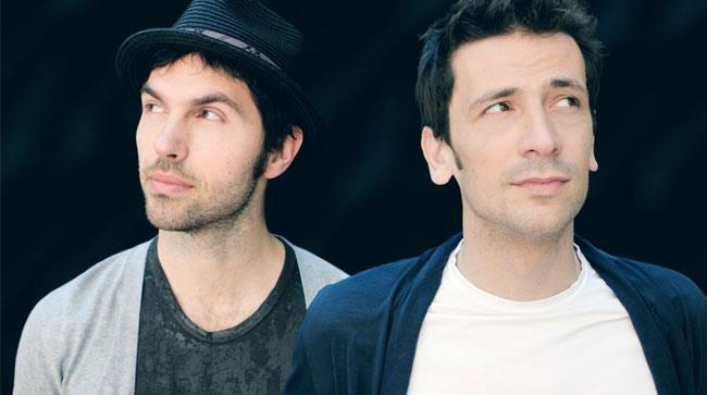 I componenti degli Zero Assoluto Thomas De Gasperi e Matteo Maffucci