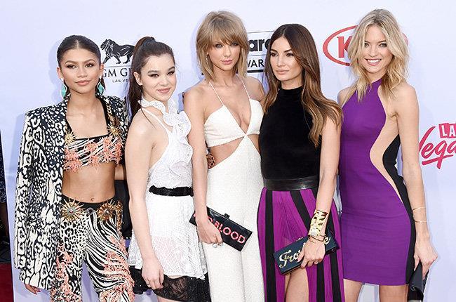 Taylor Swift e le sue amiche ai Billboard Music Awards 2015