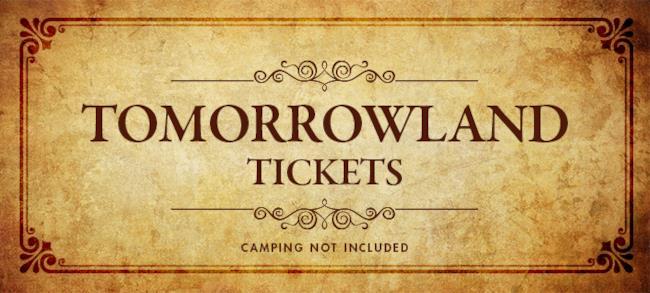 Biglietti Tomorrowland 2015