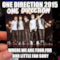 ONE DIRECTION 2015 WHERE WE ARE TOUR FOR OUR LITTLE FAN sORY