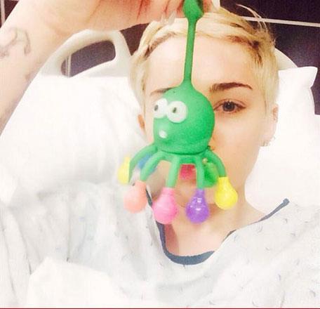 Miley Cyrus ricoverata in ospedale