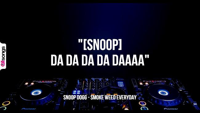 Snoop Dogg: le migliori frasi dei testi delle canzoni