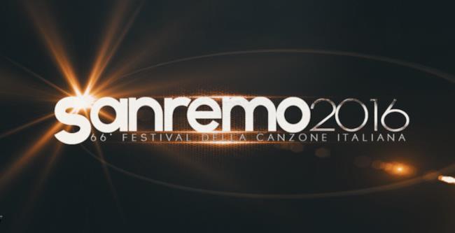 Il logo del Festival di Sanremo 2016