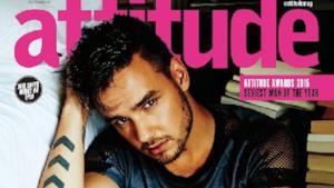 Liam Payne sulla copertina del giornale gay Attitude