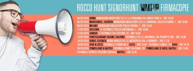 rocco hunt instore 2016