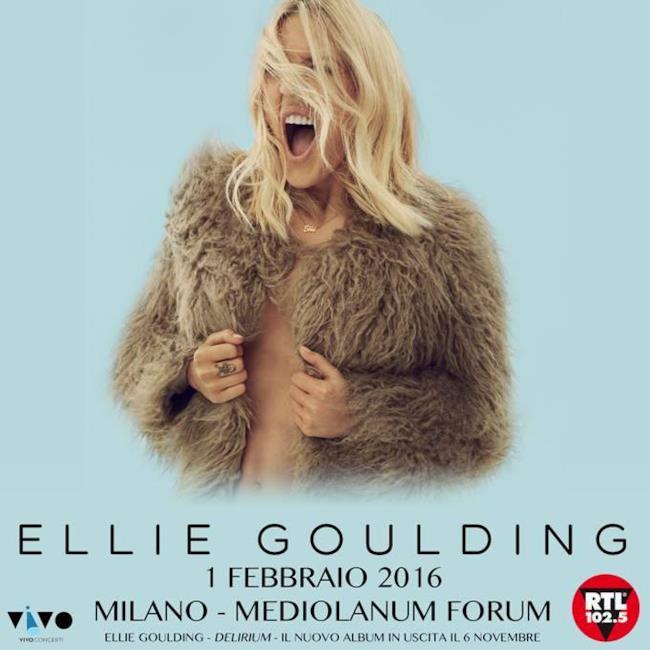 Ellie Goulding Milano 2016