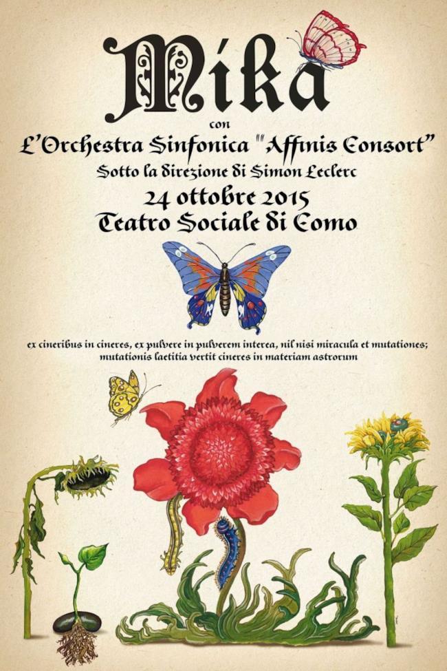 Mika - concerto Como 2015
