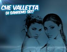 Che valletta di Sanremo sei?