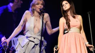 Lana del Rey e Courtney Love