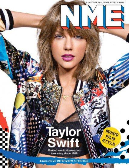 Taylor in posa per NME