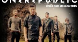 OneRepublic unica data italiana 2015