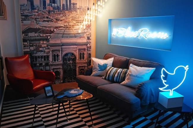 Twitter Italia #BlueRoom
