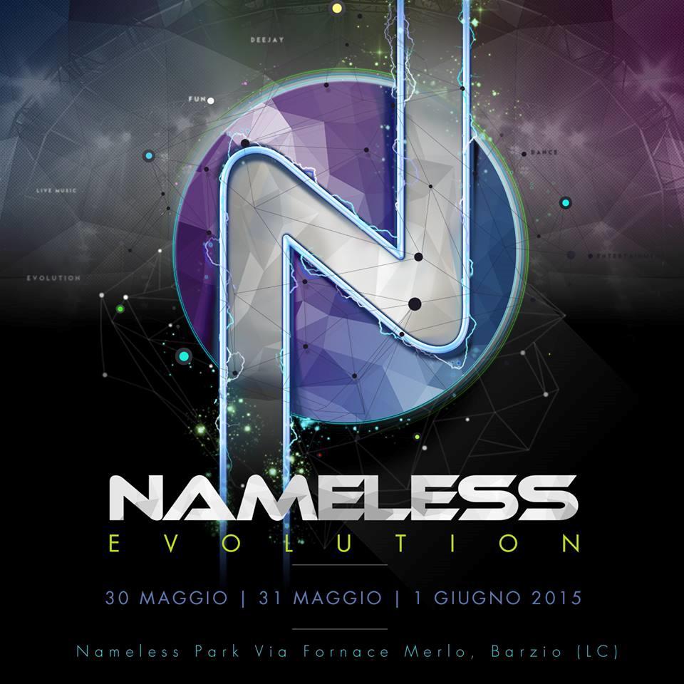 La locandina del Nameless evolution, il palco alternativo del festival