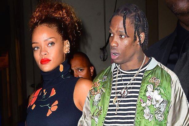 Rihanna e Travis Scott insieme