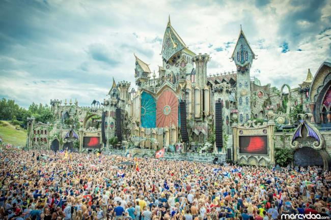 Tomorrowland main stage