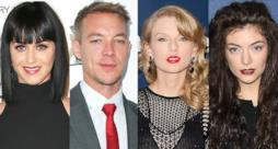 Diplo, Katy Perry, Taylor Swift e Lorde