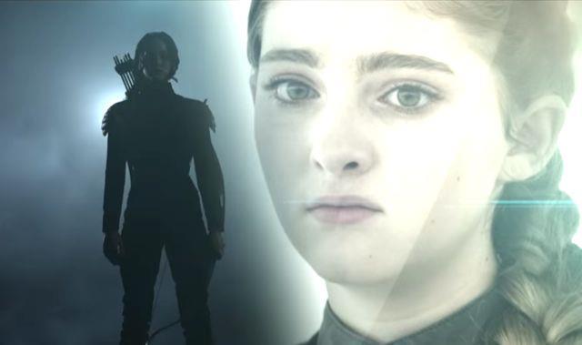 Katniss e la sorella Prim in Hunger Games: Mockingjay Part 2