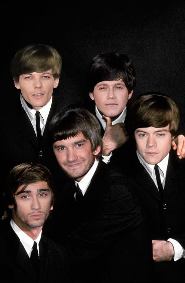 Gli One Direction se fossero i Beatles