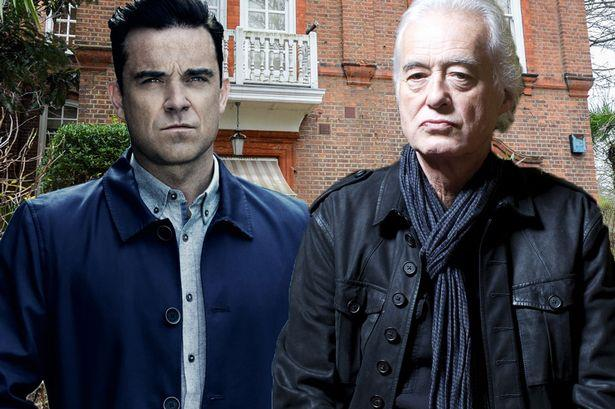Robbie Williams e Jimmy Page