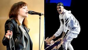 Lauren Mayberry dei Chvrches e Justin Bieber.
