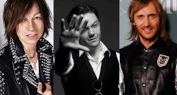 Tiziano Ferro, Gianna Nannini e David Guetta