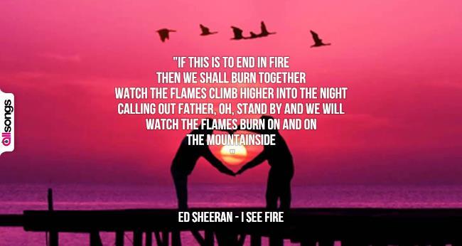 Amato Ed Sheeran: le migliori frasi delle canzoni | AllSongs WW85