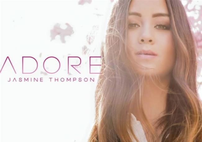 La cover dell'EP di Jasmine Thompson Adore